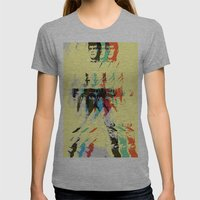 FPJ Mello Yellow Womens Fitted Tee Athletic Grey SMALL