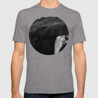 The Plunge - Seljalandsfoss  Mens Fitted Tee Tri-Grey SMALL