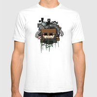 CRAFT - Book Cover Mens Fitted Tee White SMALL