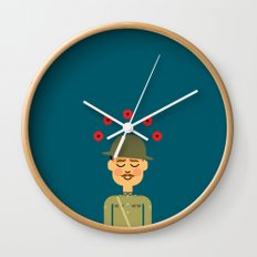 Remembrance Day Wall Clock