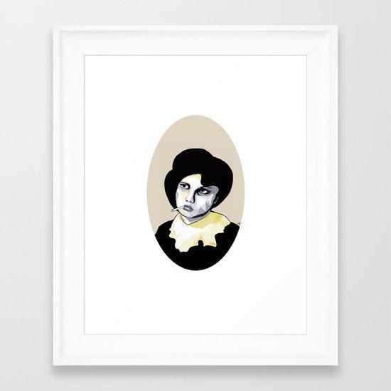 The Ringleader Framed Art Print