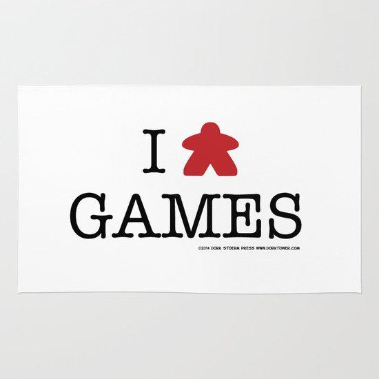 I Meeple Games Area & Throw Rug