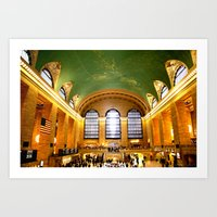 Grand Central  Art Print