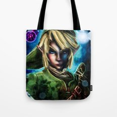 Legend of Zelda Link the Epic Hylian Tote Bag