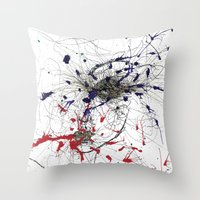 Hella Positive For Real/… Throw Pillow