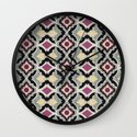 BatPattern Wall Clock