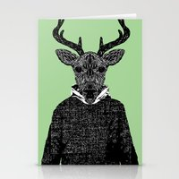 Chorus Of Deer Stationery Cards