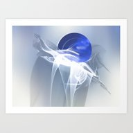 Art Print featuring Trio by Digital-Art