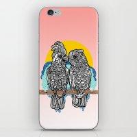 Cockatoos iPhone & iPod Skin