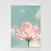 Pink Cosmos Stationery Cards