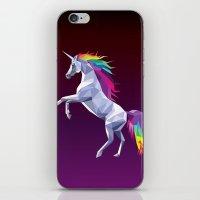 Geometric Unicorn iPhone & iPod Skin