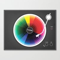 Pantune - The Color Of S… Canvas Print