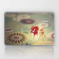hello my deer Laptop & iPad Skin