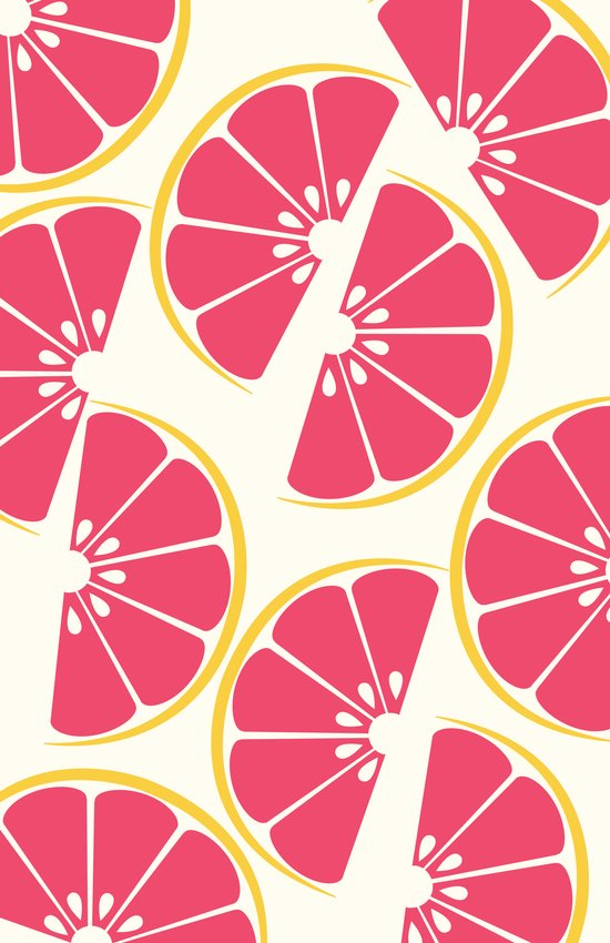 Citrus: Grapefruit Art Print
