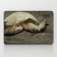 Green Sea Turtle iPad Case