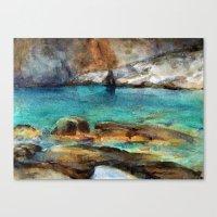 EYGENIA LOGVYNOVSKA , Sea Rocks Canvas Print