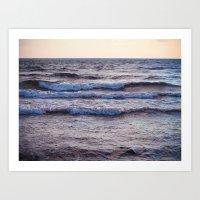 the sound of the sea Art Print