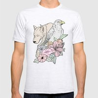 si canem corvus Mens Fitted Tee Ash Grey SMALL