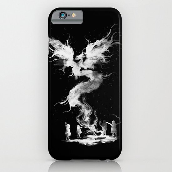 let's the magic begin (black) iPhone & iPod Case