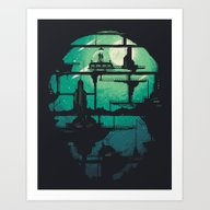 Art Print featuring Future Shock by Robson Borges