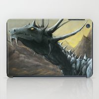 Blue Dragon iPad Case