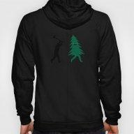 Funny Christmas Tree Hun… Hoody