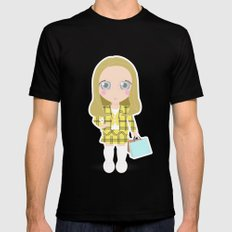 Clueless Black SMALL Mens Fitted Tee
