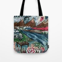 I'd Like To Stay / Someo… Tote Bag