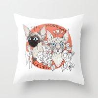 Morrgan&Sixten Throw Pillow