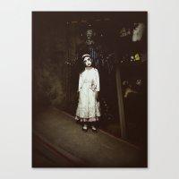 Ghost Girl Canvas Print