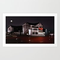 The Road House Art Print