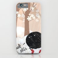 iPhone & iPod Case featuring Mr. Furry Pants by Hyein Lee