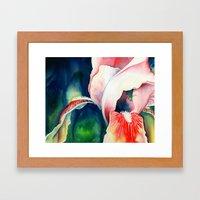 Tropical Iris Framed Art Print
