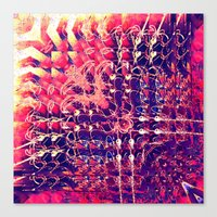 07-27-13 (Chandelier Gli… Canvas Print