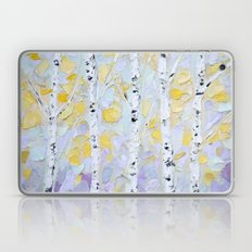 October Birch Laptop & iPad Skin