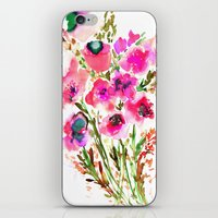 Bouquet Pink  iPhone & iPod Skin