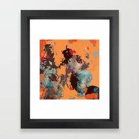 Iki Figür Framed Art Print