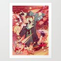 Machinima Film Festival Art Print