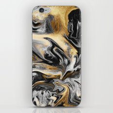 Gold Veins iPhone & iPod Skin