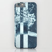 iPhone & iPod Case featuring Swell Zone Splatter Ice by Caleb Troy