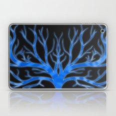 Ghostly Vines (Deep Blue Spirit) Laptop & iPad Skin