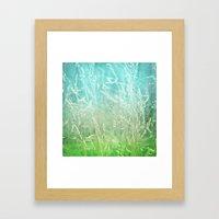 WHISPERING Framed Art Print