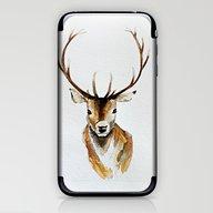 Buck - Watercolor iPhone & iPod Skin