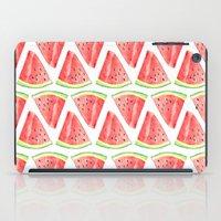 Watermelon Red Piece iPad Case
