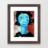 Who Are You For Judging.… Framed Art Print