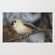 Tufted Titmouse Bird Rug