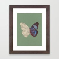 Winging 2 Framed Art Print