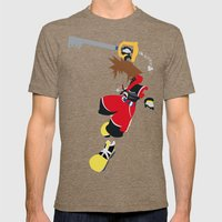 Sora Mens Fitted Tee Tri-Coffee SMALL