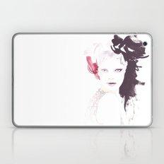 Fashion illustration in watercolors Laptop & iPad Skin