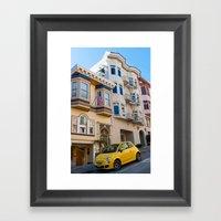 San Francisco Street Framed Art Print